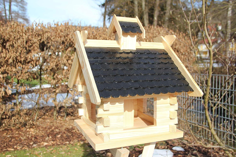 Vogelhaus-Vogelh/äuser Vogelfutterhaus Vogelh/äuschen-aus Holz-Vogelhausst/änder-Nistkasten-Schreinerarbeit-in unterschiedlichen Farben erh/ältlich.