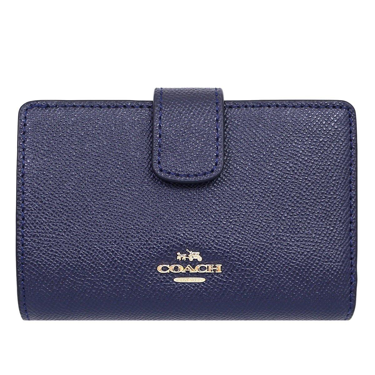 [コーチ] COACH 財布 (二つ折り財布) F54010 レザー 二つ折り財布 レディース [アウトレット品] [並行輸入品] B01G20M3CO ミッドナイト ミッドナイト