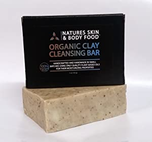 Organic Moisturizing Soap That Naturally Cleans, Deodorizes, Nourishes And Exfoliates. So Moisturizing You Can Shave with It Or Use as a Bar Shampoo-Effective For Acne Rosacea Eczema And Psoriasis