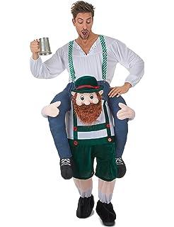 69f58f84bd850 Déguisement Homme à Dos de Bavarois Bleu Adulte Fête de la bière ...