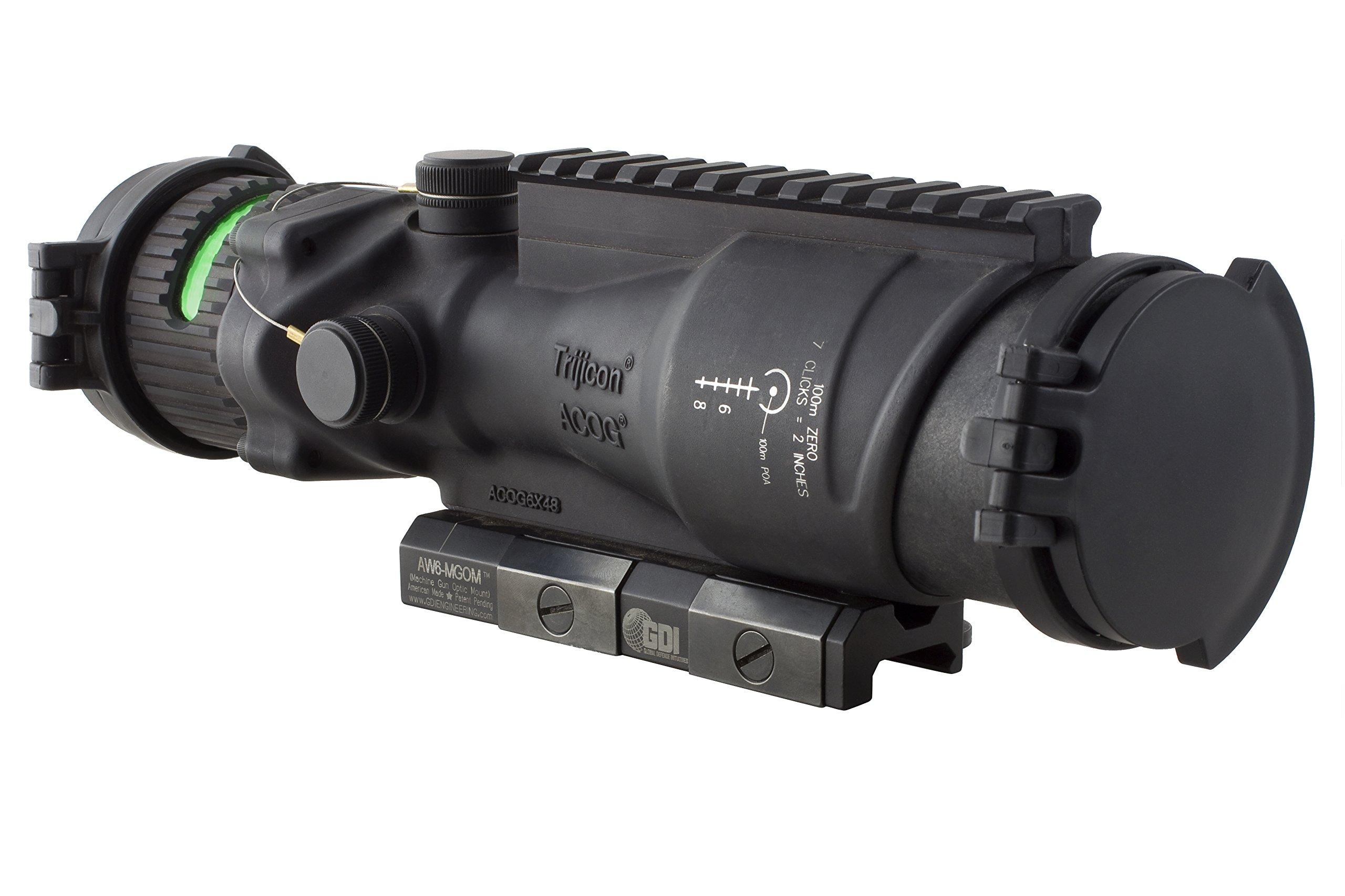 Trijicon ACOG 6x48 Machine Gun Optic (Green Horseshoe .500)