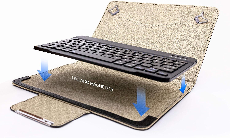 Talius Funda con Teclado para Tablet 10