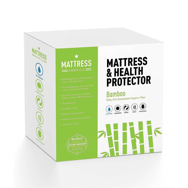 Amazon Mattress America Premium Bamboo Mattress Protector