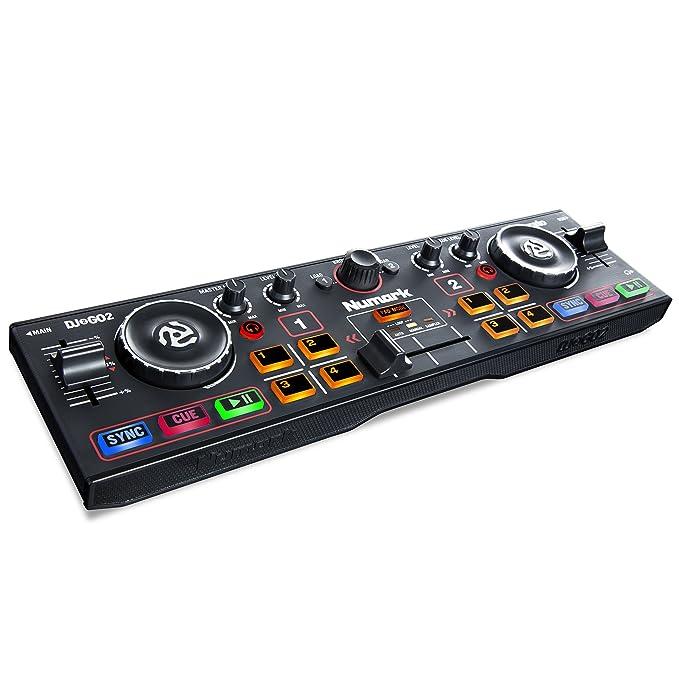 9 opinioni per Numark DJ2GO 2 Controller per DJ Portatile a Due Canali con Interfaccia Audio