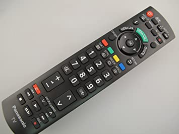 Panasonic Viera TV Remote Control N2QAYB000328, Fits Many LCD Models