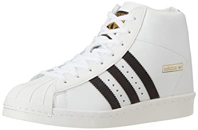Zapatillas adidas - SuperStar Up Blanco/Negro/Dorado 39 1/3: Amazon.es: Zapatos y complementos