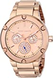 Vince Camuto Women's VC/5176RGRG Swarovski Crystal Accented Stainless Steel Bracelet Watch