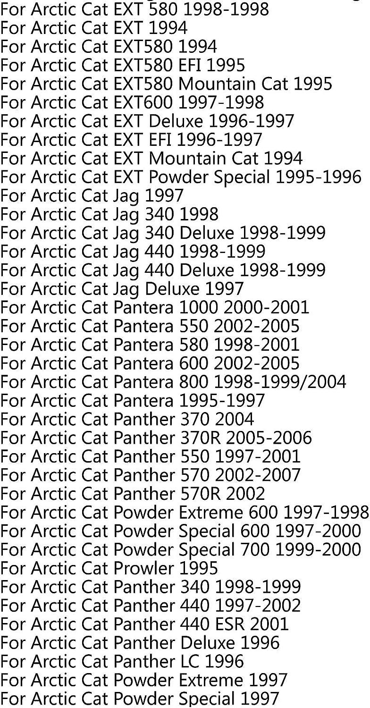 Areyourshop 0627-010 Cinghia di trasmissione per Arc-tic Cat F5 F6 King Mountain Cat 500 800 Wildcat EFI