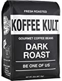 Koffee Kult Coffee Beans Dark Roasted - Highest Quality Delicious Organically Sourced Fair Trade - Whole Bean Coffee…