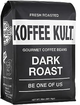 Koffee Kult Gourmet Fresh Roasted Dark Roast Coffee Beans