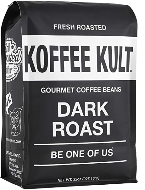 Coffee Beans Dark Roasted - Highest Quality Delicious Organically Sourced Fair Trade - Whole Bean Coffee