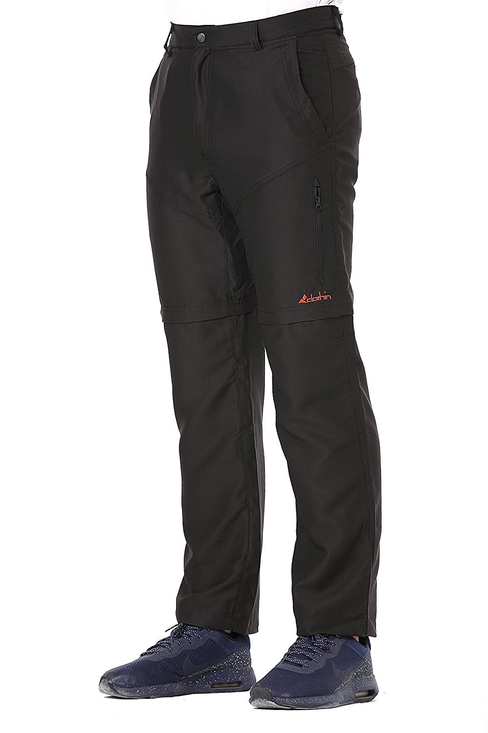 Men's Zip Off Pants Convertible to Shorts Lightweight Quick-Dry  Water-Repellent at Amazon Men's Clothing store: