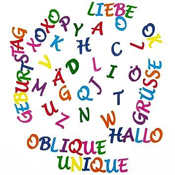 ABC Alphabet Sticker 212 Buchstaben Set Aufkleber Kinder Lernen mit ...