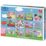 Peppa Pig 12 In 1 Jigsaw Puzzle Pack