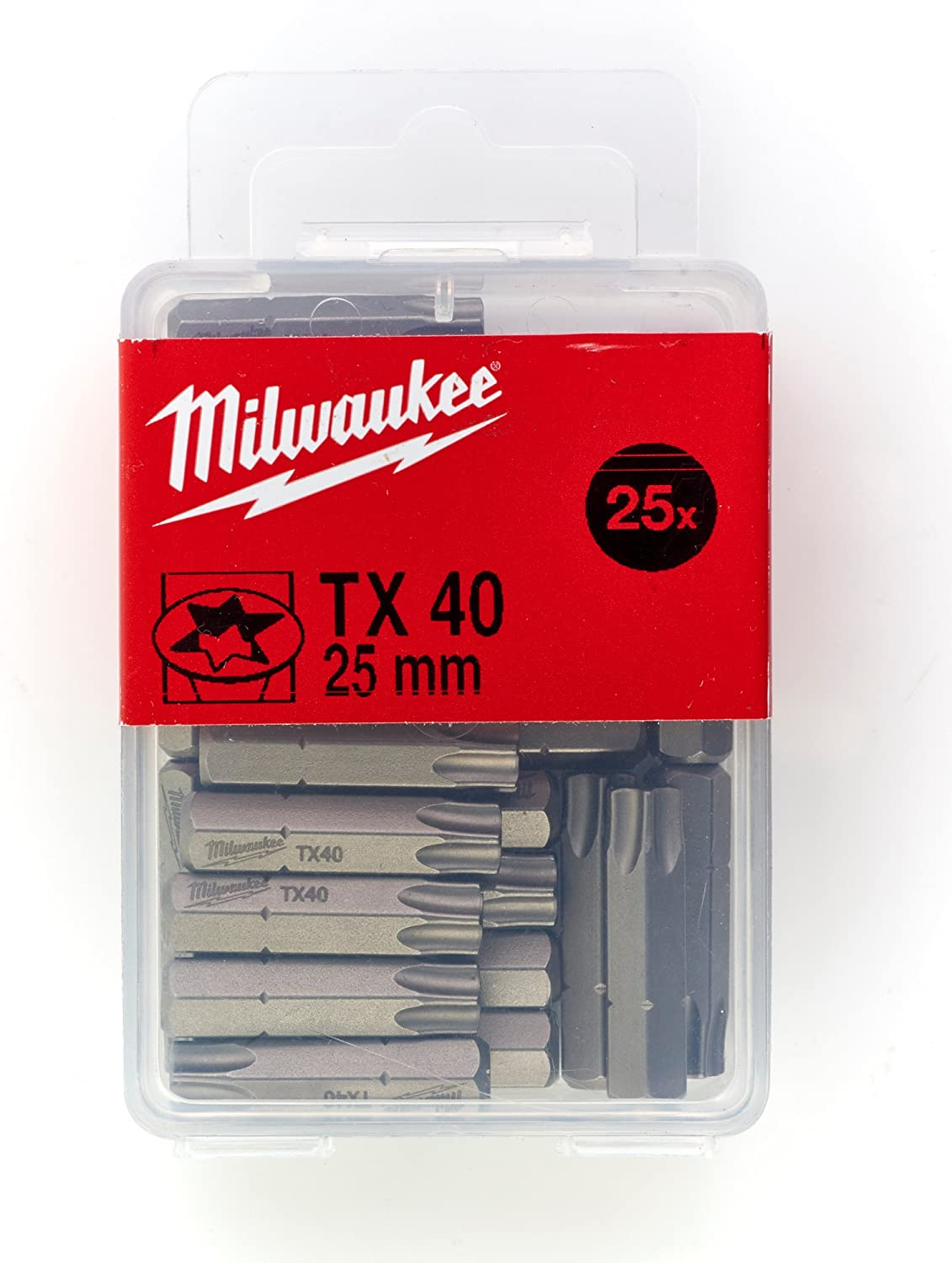 Gris Milwaukee 4002395362462 Embout de Vissage TX 20
