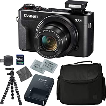 Amazon.com: Canon PowerShot G7 X Mark II: Cámara digital + ...