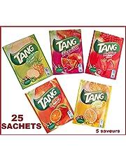 TANG 25 SACHET S =25LT. ORANGE, CITRON, TROPICAL , FRAISE,ANANAS