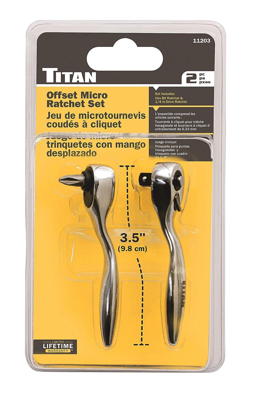 Amazon.com: Titan Herramientas 11203 compensar Micro Bit ...