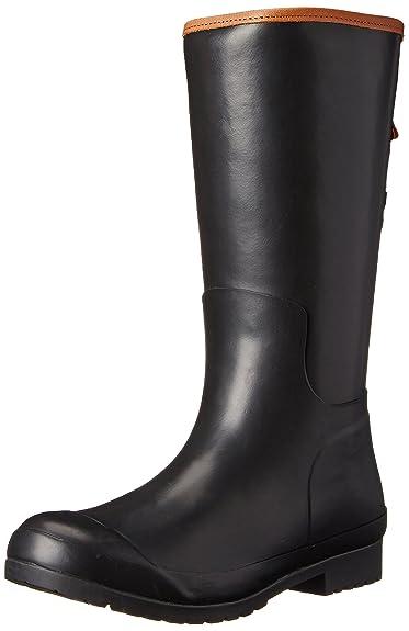 Amazon.com | Sperry Top-Sider Women's Walker Mist Rain Boot, Black ...