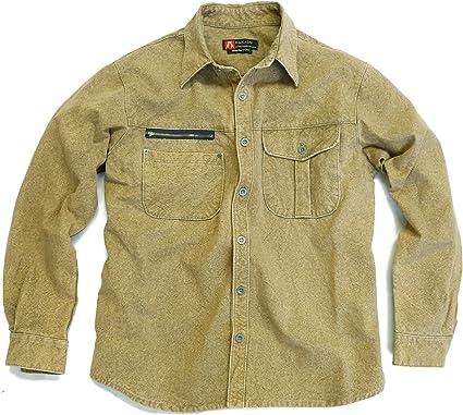 Kakadu Traders Brighton - Camisa para hombre con bolsillo con cremallera en el pecho: Amazon.es: Ropa y accesorios