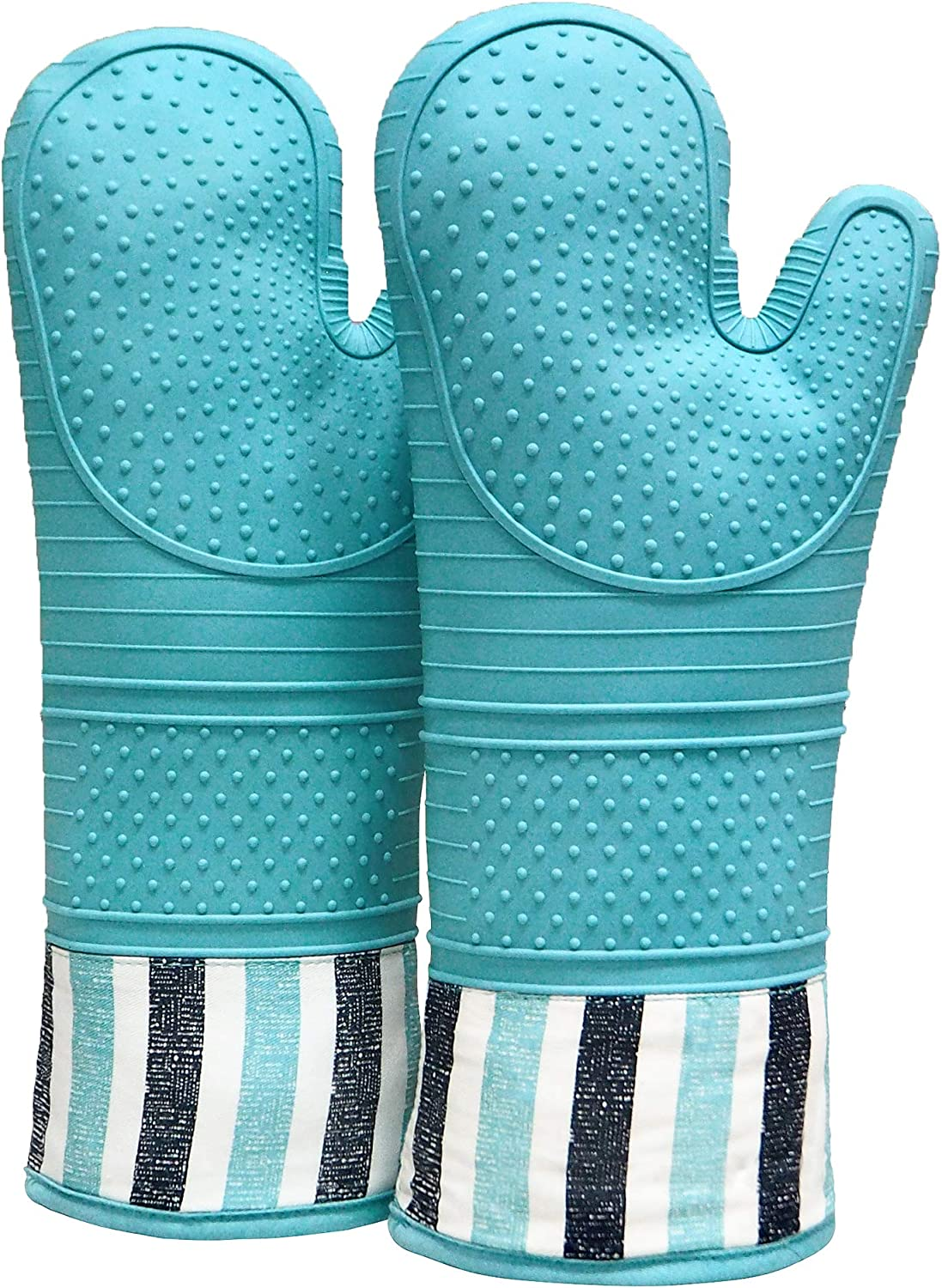 Oven Mini Mitts 1 Pair Heat Resistant Anti-scald Gloves Pot holders 2pc