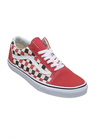 Red Taille Skool 45 Chaussures Skateshoes Vans Old Homme Blue WA0qBfS