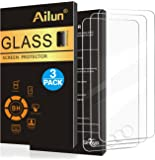 Ailun Screen Protector for iPod Touch 6 [3Pack],2.5D Edge Tempered Glass for iPod Touch 6/5(6th/5th Generation),Anti-Scratch,Case Friendly,Siania Retail Package