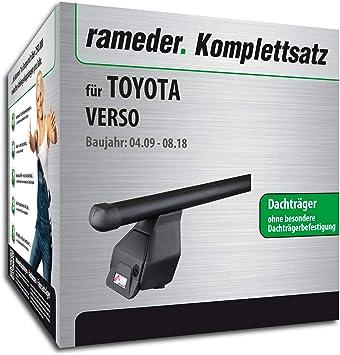 Rameder Komplettsatz Dachträger Tema Für Toyota Verso 118818 08158 4 Auto