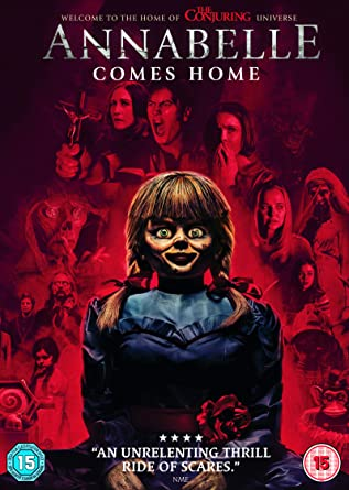 Annabelle Comes Home Dvd 2019 Amazoncouk Mckenna