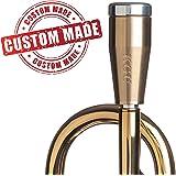 KGUBrass Custom Trumpet Mouthpiece Booster, Raw Brass - Limited Edition