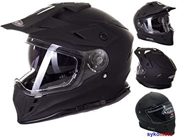 MOTOCROSS CASCO FLAME RX-V288 ADULTOS OFF ROAD VISERA DOBLE MOTO ENDURO ECE HOMOLOGADO ATV