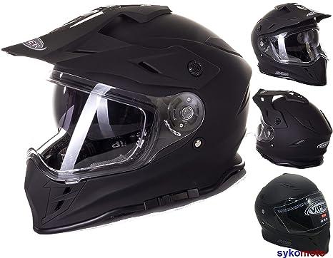 MOTOCROSS CASCO FLAME RX-V288 ADULTOS OFF ROAD VISERA DOBLE MOTO ENDURO ECE HOMOLOGADO ATV
