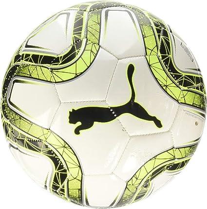 Puma Final MS Mini Trainer Balón de Fútbol, Unisex niños, White ...