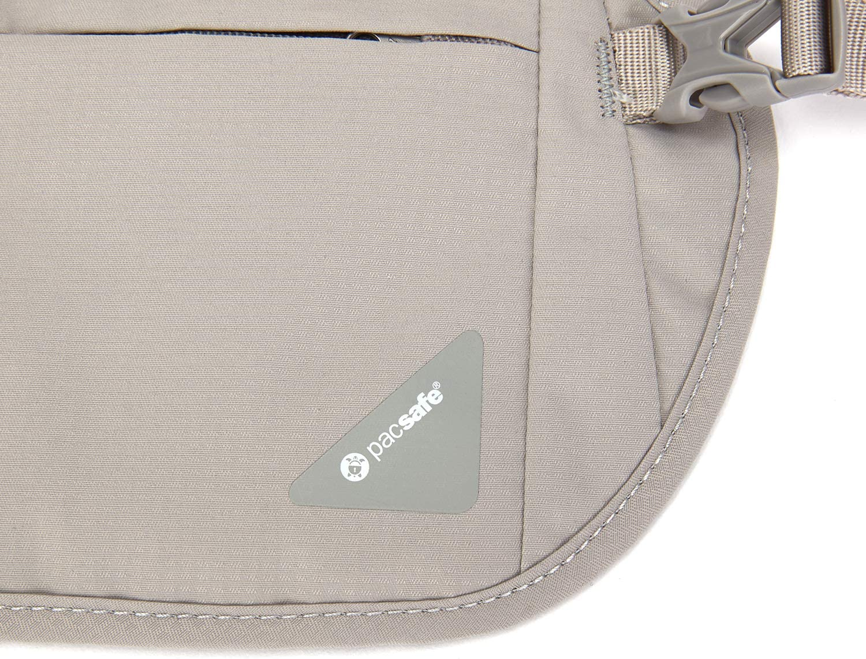 Pacsafe Coversafe V100 Anti-Theft RFID Blocking Waist Wallet Black