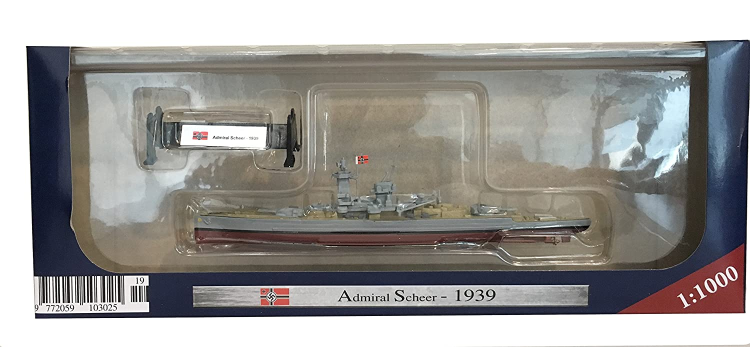 Admiral Scheer 1939 - 1:1000 Ship Model (Amercom ST-19)