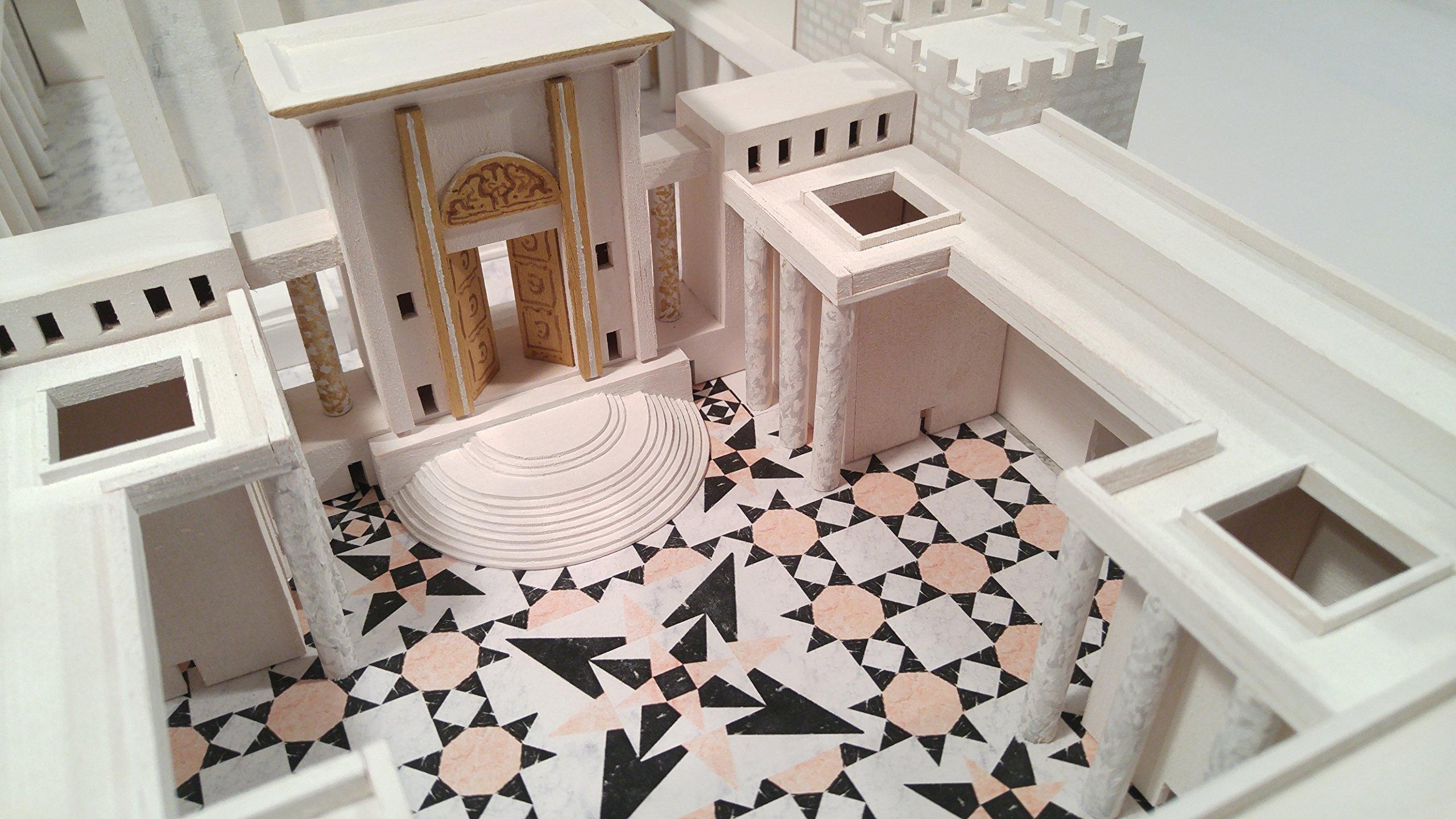 Jerusalem Second Temple Model Kit (Do-it-Yourself) - Beit HaMikdash