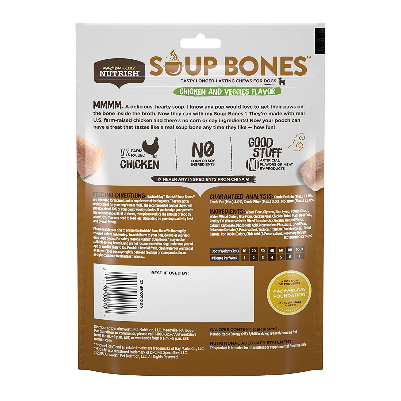 Rachael Ray Nutrish Soup Bones Dog Treats