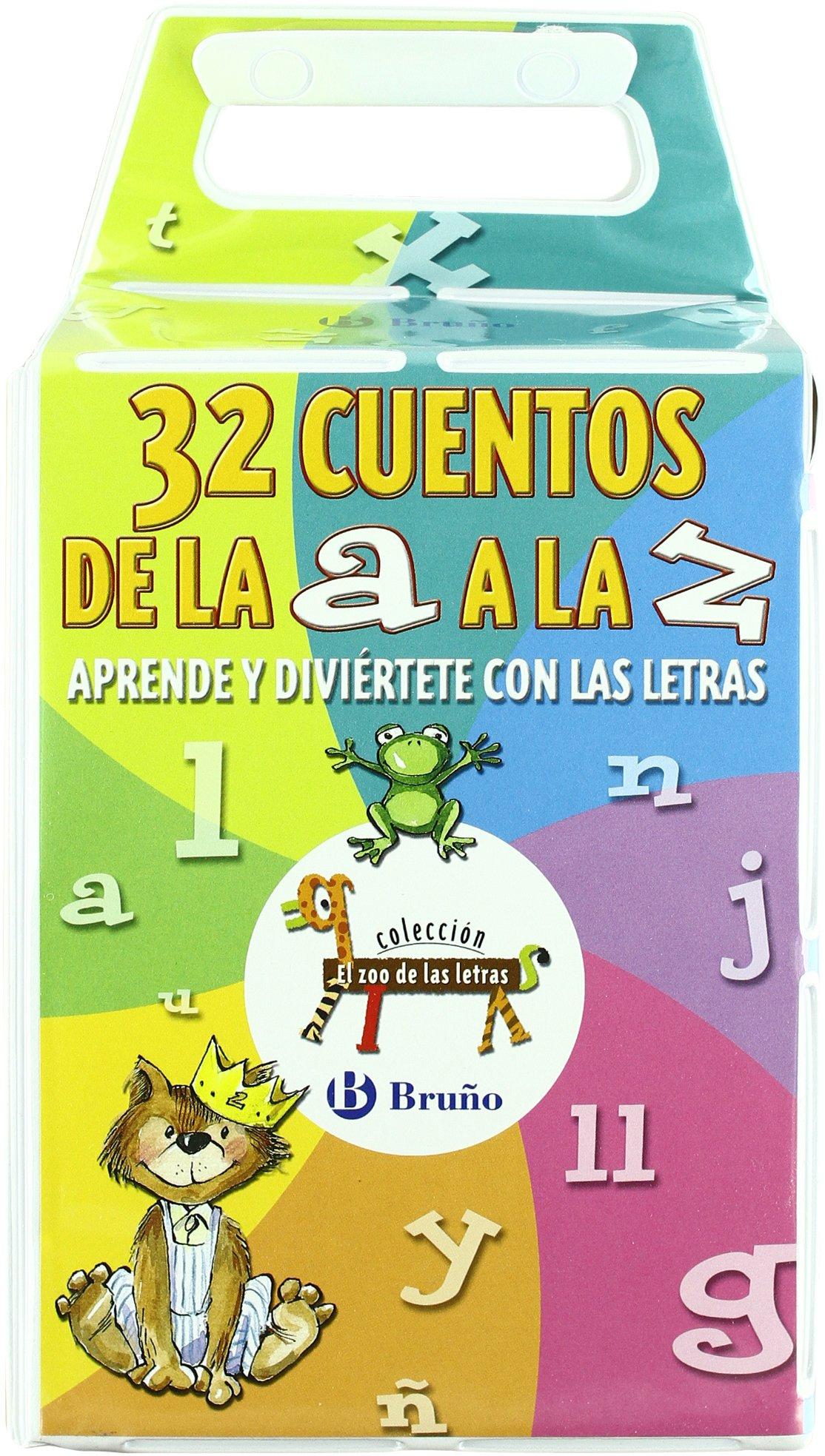 32 Cuentos de la A a la Z Castellano - A Partir De 3 Años - Libros  Didácticos - El Zoo De Las Letras: Amazon.es: Beatriz Doumerc, Tría 3:  Libros