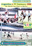 Argentina V West Germany 1986 - The World Cup Final In Mexico [DVD]
