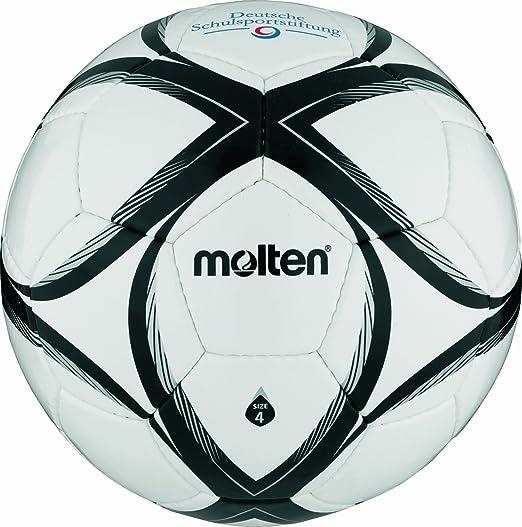 4 opinioni per Molten- FXST4, Pallone da calcio, colore: Bianco/Nero/Arancione