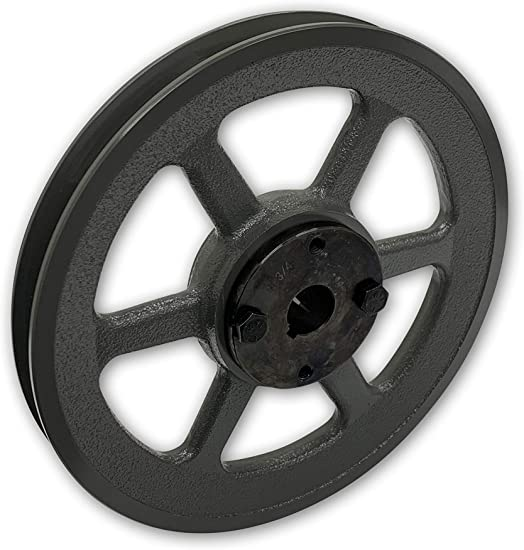 """Cast Iron pulley SHEAVE 7.75/"""" for electric motor 2 groove for B /& 5L  5//8  belts"""