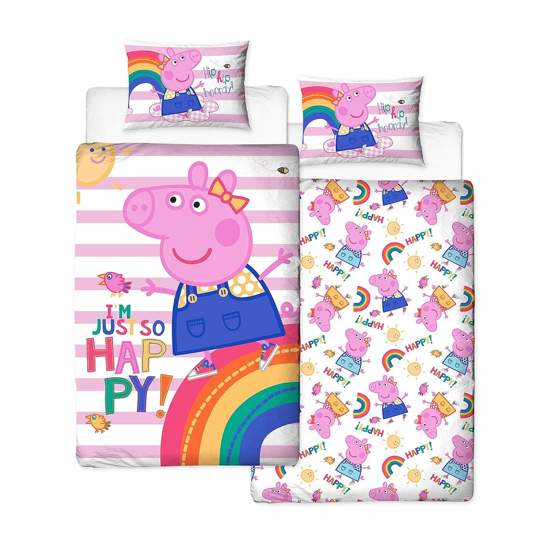Pillow /& Pillow Case Set Peppa Pig  Duvet /& Duvet Cover