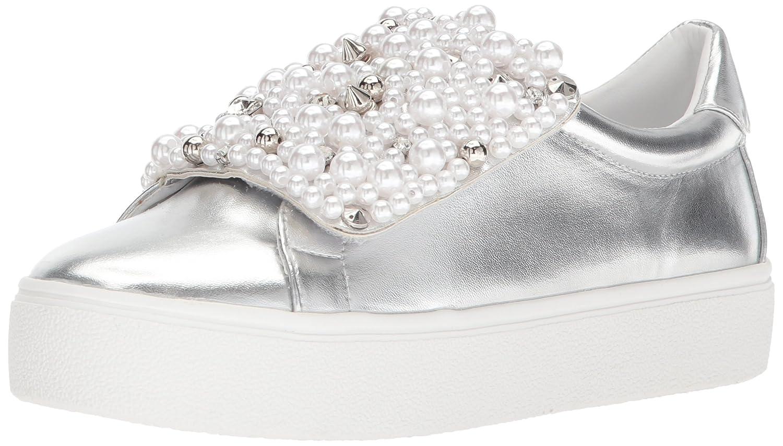 Steve Madden Women's Lion Sneaker B076TJ6238 9 B(M) US|Silver