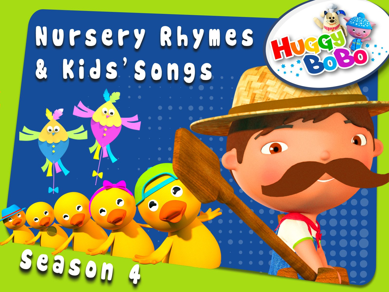 Nursery Rhymes And Kids' Songs By HuggyBoBo on Amazon Prime Video UK