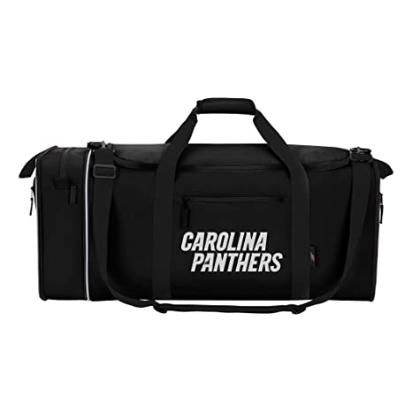 Amazon.com   Officially Licensed NFL Carolina Panthers Steal Duffel ... caaffdca8