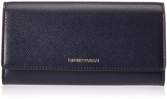 Emporio Armani Y3H008 porte-monnaie Femme bleu PZ  Amazon.fr  Vêtements et  accessoires ceac596f524