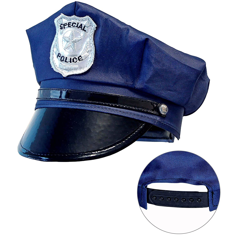 WIDMANN 03327 - Gorro de policía para niños, color azul, talla ...