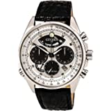 Mens Citizen Eco-Drive Limited Edition Calibre 2100 Leather Strap Watch AV0060-00A