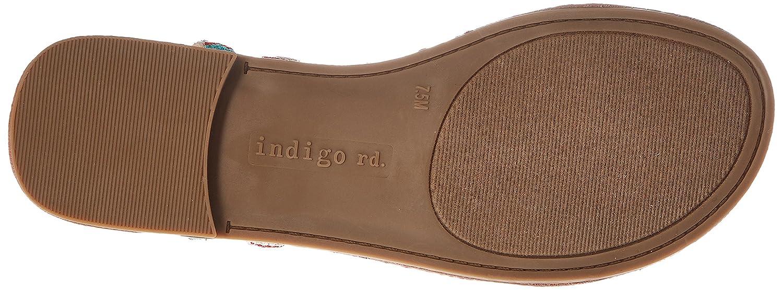 Womens Doe Flat Sandal Indigo Rd
