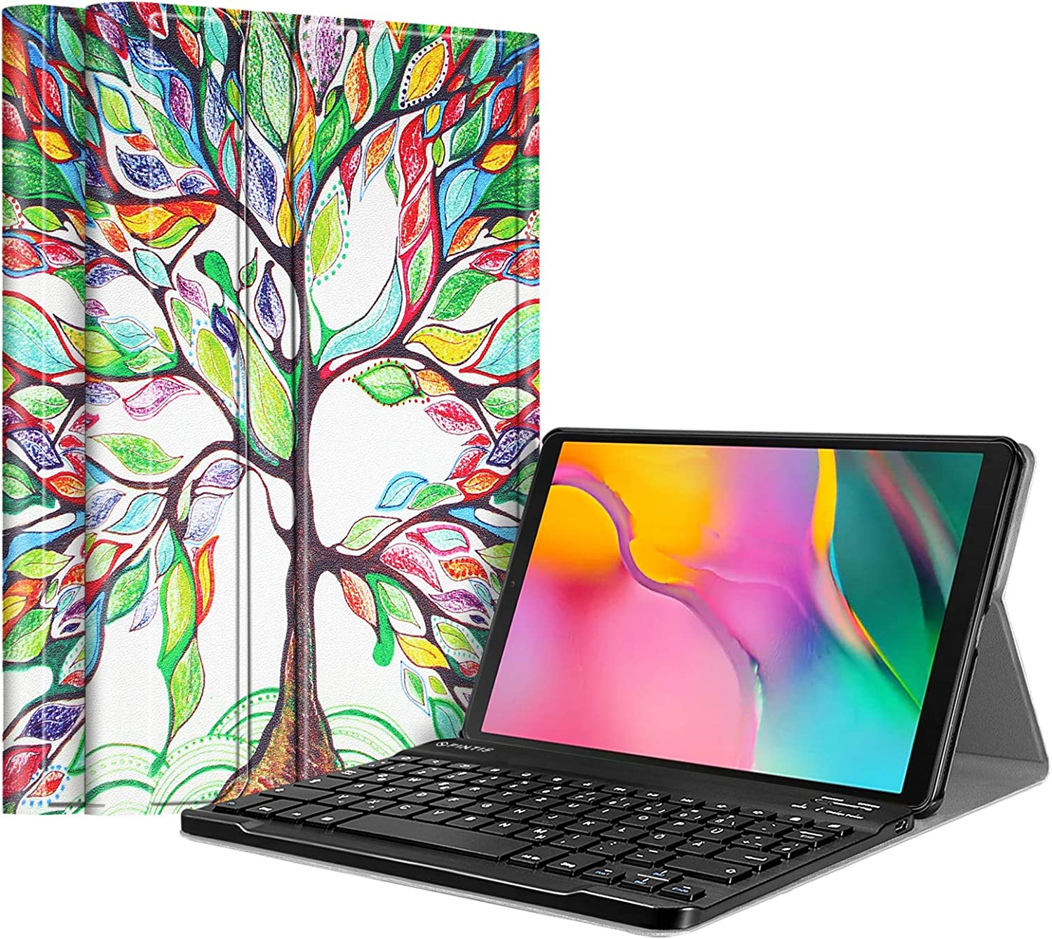 Fintie Keyboard Cover For The Samsung Galaxy Tab A 10 1 Computers Accessories